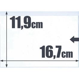 500 BOLSAS FICHA 550 16'2X11'5 SAFI