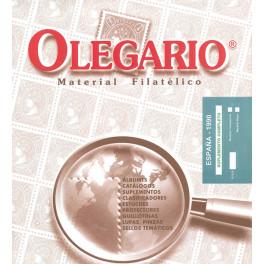 SPAIN 1958/59 N OLEGARIO SPANISH