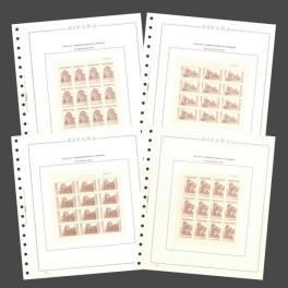 PAQ. 50 BLANK SH. SPAIN W/REQ. CT OLEGARIO CATALAN