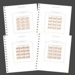 SPAIN 1965 N (52/57) OLEGARIO SPANISH