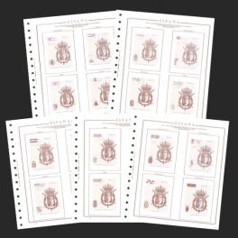 TEST 1984 195-P N WORLD CUP FILAT. CT OLEGARIO CATALAN