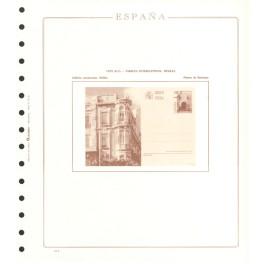 TEST 1985 204-P EXFILNA'85 CT OLEGARIO CATALAN