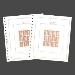 SPAIN 1989 N 232/240) OLEGARIO SPANISH