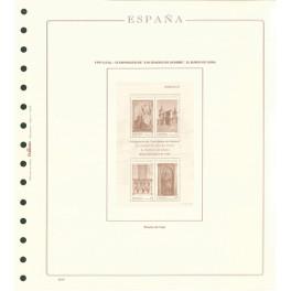 TEST 1990 244-P STAMP'S DAYEXF. S/M OLEGARIO SPANISH