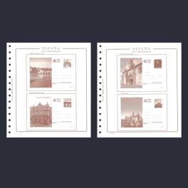 MB 13/6 CENTENARIOS 1990 N 245abcd OLEGARIO SPANISH