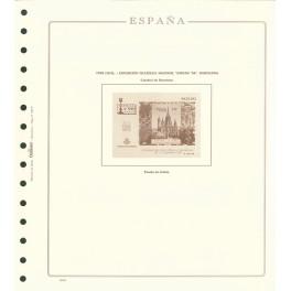 MF 20/3 HERITAGE 1990 N 249abcd OLEGARIO SPANISH