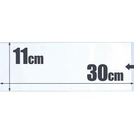 500 BOLSAS GLASPACK 22X16 SAFI
