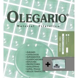 TEST 2000 361 A/E 150 STAMP ANIV. N OLEGARIO SPANISH