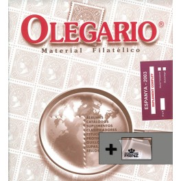 SPAIN 1850/38 SF BL. BIND.NIL CS OLEGARIO SPANISH