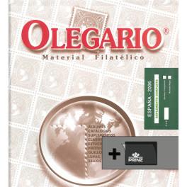 SPAIN 1986/1993 SF BINDER NIL CS OLEGARIO SPANISH