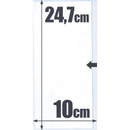 500 POCKET GLASPACK 10'2X20 SAFI