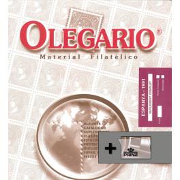 SPAIN 1950/57 SF OLEGARIO SPANISH