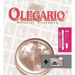 SPAIN 1964 SF BLACK (44/51) OLEGARIO SPANISH