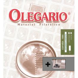 SPAIN 1972 SF (105/110) OLEGARIO SPANISH