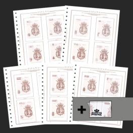 SPAIN 11989 SF BLACK (232/240) OLEGARIO SPANISH