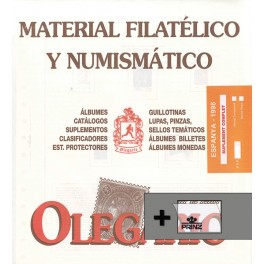 SPAIN 11989 SF BLACK (232/240) OLEGARIO SPANISH