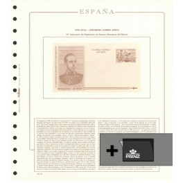 ADH.STAMPS F.KLUSSENDORF SPAIN 1989-96 SF 080189 SPANISH