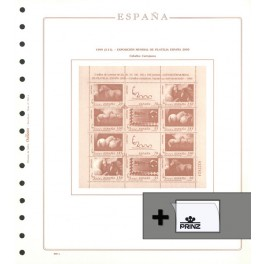 AIR MAIL 1987 SF/BLACK 222AE OLEGARIO SPANISH