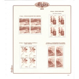 SPAIN 1994 SF BL.OLEGARIO SPANISH