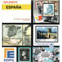 ESPANYA 1947 Ed.1015/16X FALLA/ZULOAGA AMB XARNERA