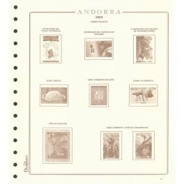BINDER IMPERIAL ALBUM SELLOS RED OLEGARIO SPANISH