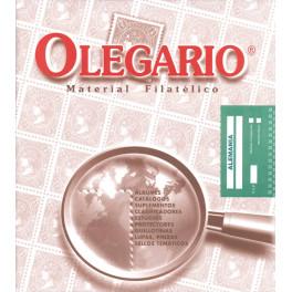 BINDER IMPERIAL ALBUM SEGELLS GREEN CT OLEGARIO CATALAN