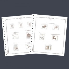 BINDER IMPERIAL ALBUM SELLOS GREEN OLEGARIO SPANISH