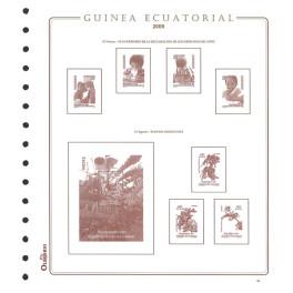 BINDER NIL ALBUM SELLOS GREEN OLEGARIO SPANISH