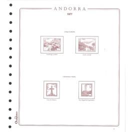 ANDORRA FR. 2002 N 64/5 OLEGARIO SPANISH