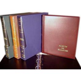 BINDER PRACTIC PAPER MONEY 270X320 BLUE SAFI CATALAN
