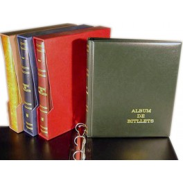 BINDER PRACTIC PAPER MONEY 270X320 BLUE 4 R. SAFI CATALAN