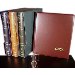 BINDER PRACTIC PAPER MONER 270X320 BROWN SAFI SPANISH