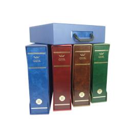 BINDER CAVA GEGANT 7SH.48DP BLUE SAFI
