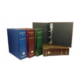 BINDER CAVA GEGANT WITH HANDLE BLUE SAFI