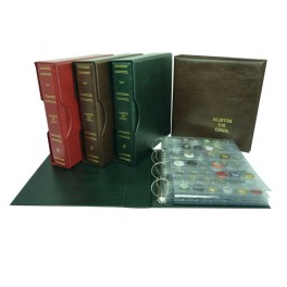 BINDER CAVA GROS RED WITH 5 SHEETS SAFI
