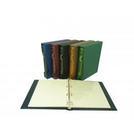 BINDER GROS CAVA GREEN WITH 5 SHEETS 36 DP. SAFI