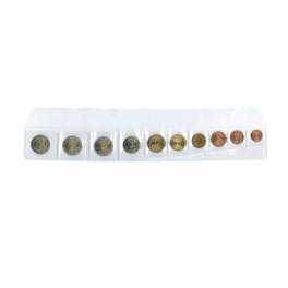 COINS PLASTIC 4,5X4,5cm 1 DEP (100) SAFI