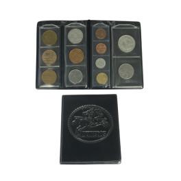 BINDER COINS 240X260 S/F GREEN MINU SAFI SPANISH