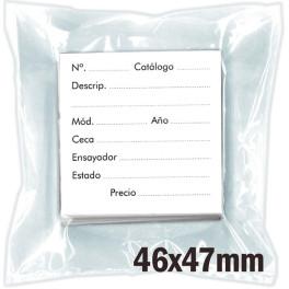 MEDAL PLASTIC 4X7cm -100- SAFI