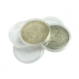 100 COIN HOLDERS N2 32mm. 25 PTA. / 12€ SAFI