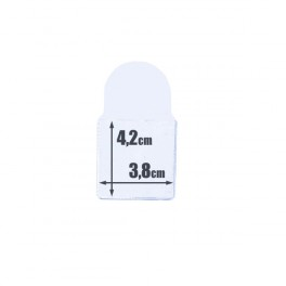 100 COIN HOLDERS N1 40mm. 50 PTA. / 10€ SAFI