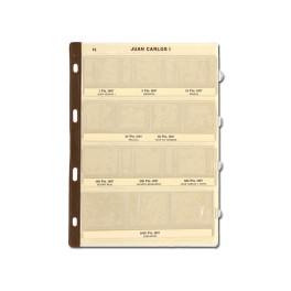 BINDER COINS 290X310 GARNET 15 UNI SAFI CATALAN