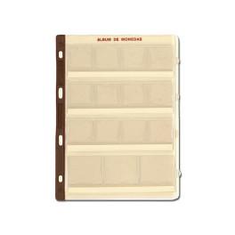 SHEET CARTON COINS.20 DEP.15A UNI SAFI