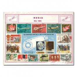 100 STAMPS DIF. WORLD N SPANISH