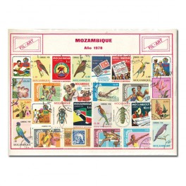 50 STAMPS THEMATIC EUROPE SPANISH