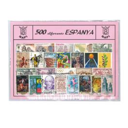 SHEET EUROS SPAIN 9 COINS SAFI SPANISH
