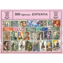 RUSSIAN 1980 STAMPS'S USED NOT MOUNTED SPANISH