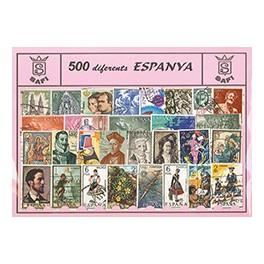RUSSIAN 1987 STAMP'S USED NOT MOUNTED SPANISH