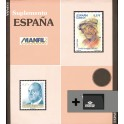 STAMPS OF SHEETS 2005 N MANFIL SPANISH