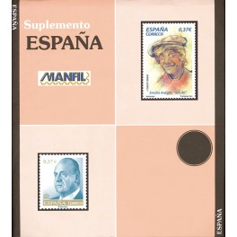 STAMPS OF BLOCKS 2009 SF BLACK MANFIL SPANISH